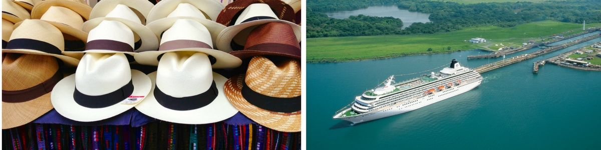 Panama Hats and Panama Canal