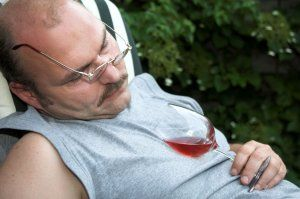 passed-out-man-drinking