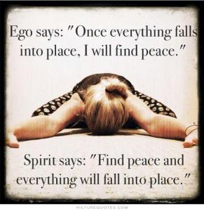 spirit vs ego - ego-says-wait