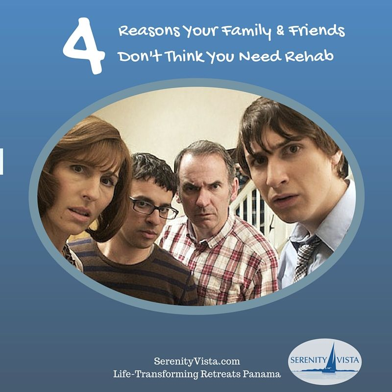 4 reasons family doesn't want rehab