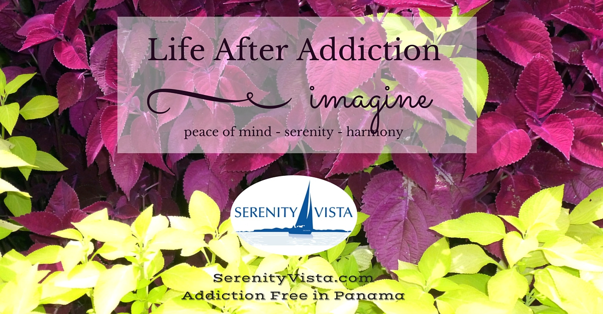 Life After Active Addiction can be one of transformation to freedom and abundance at Serenity Vista