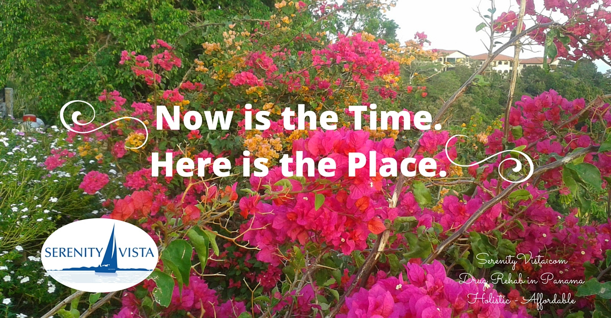 Best day rehab program for Addiction Recovery Now. Here and now is the time and place. Serenity Vista.