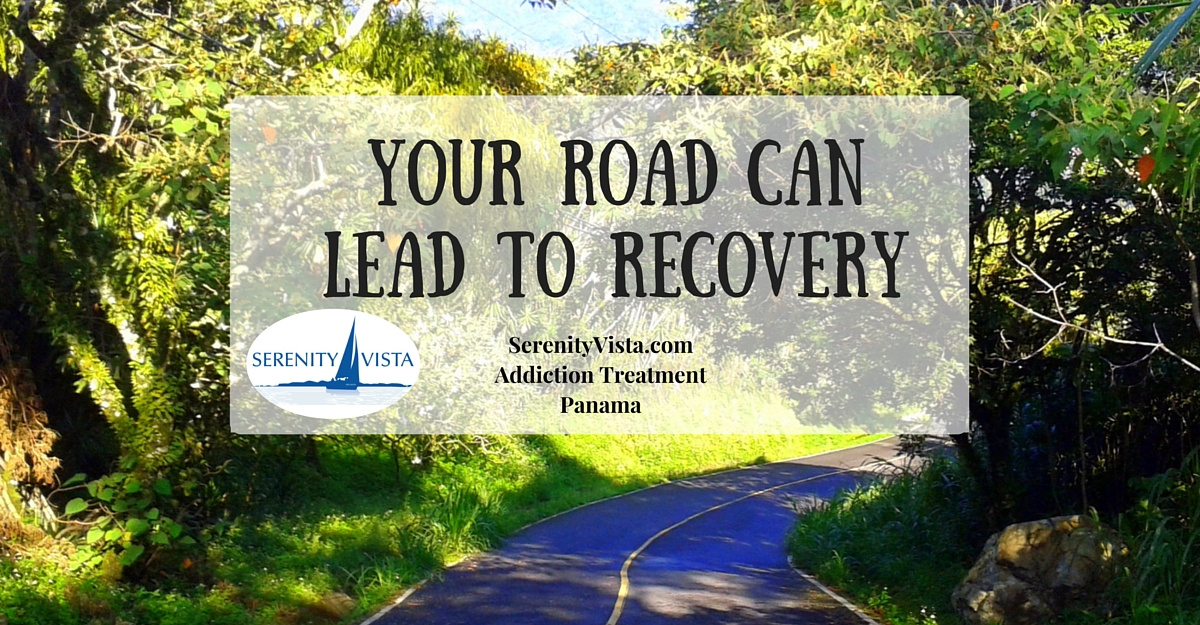 Your Road to the Best Addiction Recovery in tropical Panama at Serenity Vista international private rehab