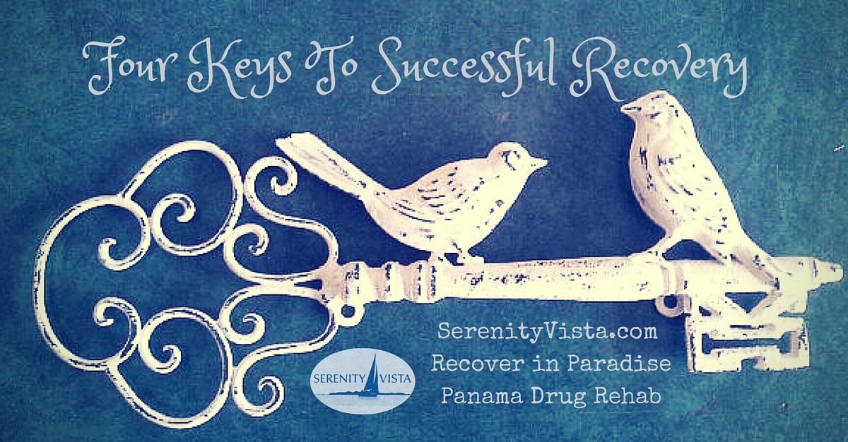 Four Recovery Keys to Break Chains of Addictions - 4 Keys To Recovery