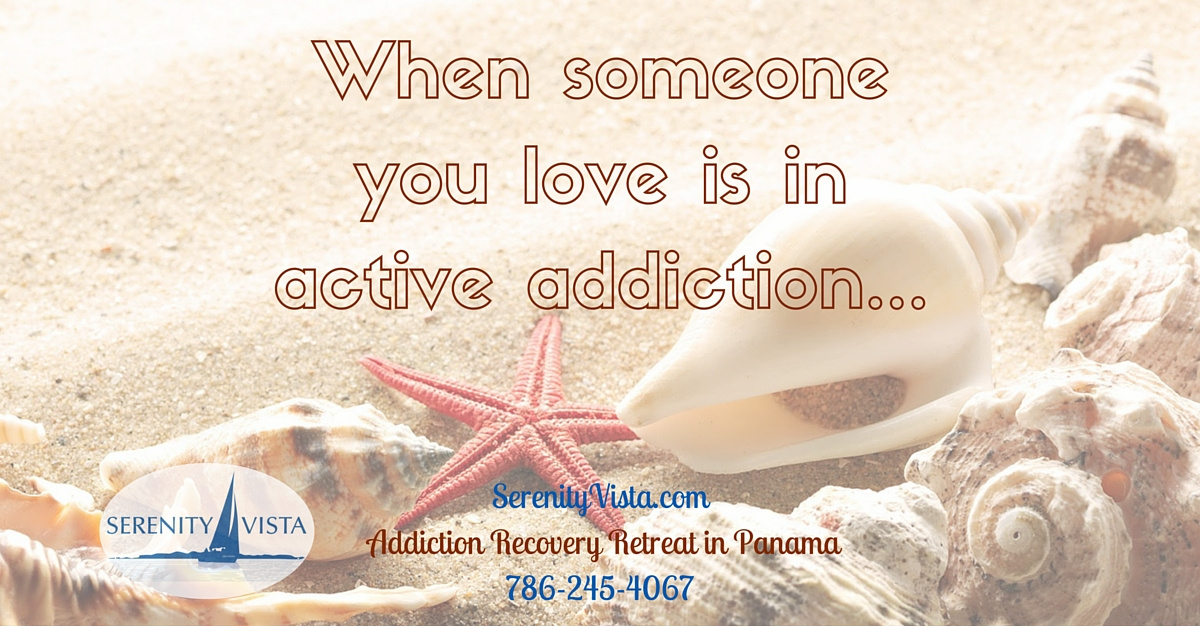 Help alcoholic loved one in active addiction