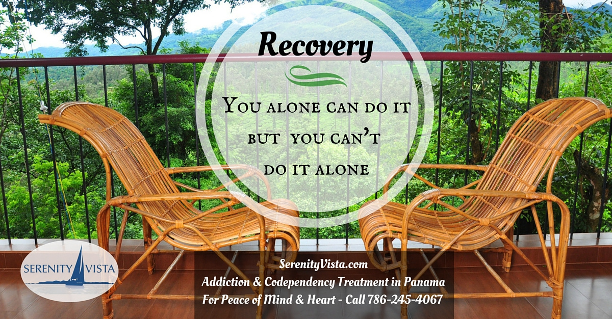 not-self-help alone to successfully overcoming addiction at Serenity Vista drug rehab