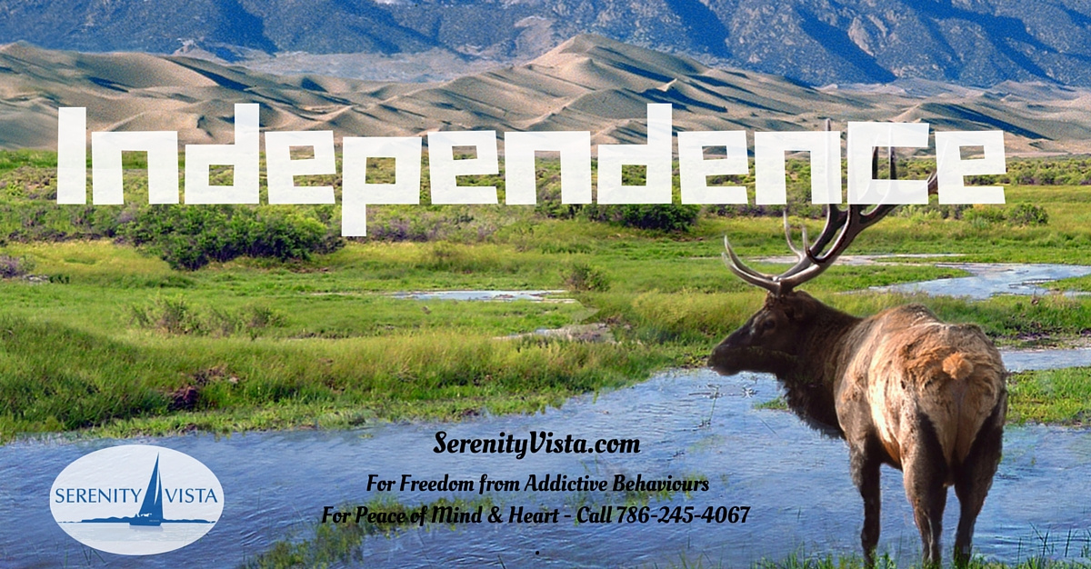 independence from addiction at Serenity Vista international alcohol & drug addiction treatment center