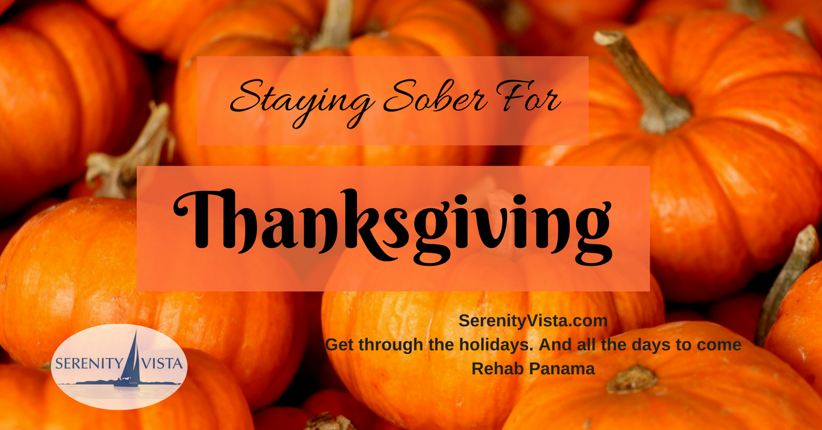 Thanksgiving Sobriety
