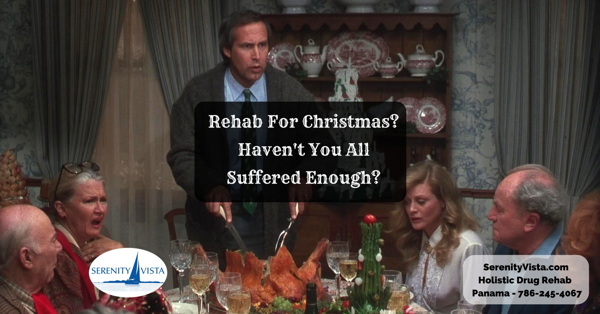 Christmas-in-rehab, Serenity Vista holistic drug rehab