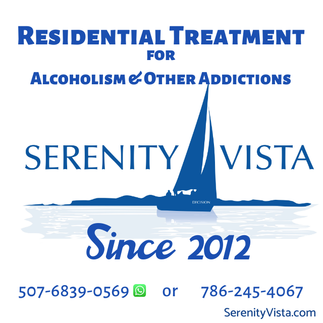 Serenity Vista, Residential Treatment for Alcoholism & Other Addictions, Since 2012
