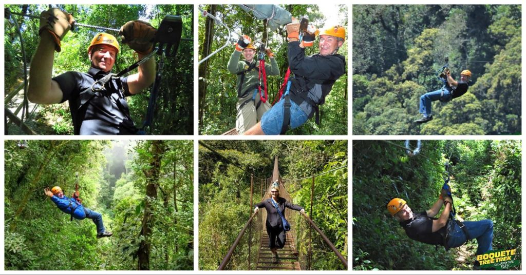 Zip Lining is a favorite Serenity Vista Recreational Outing